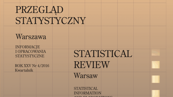 Statistical Review of Warsaw - 4th quarter 2016