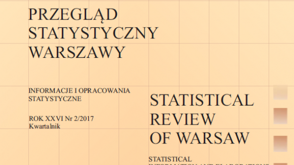 Statistical Review of Warsaw - 2nd quarter 2017