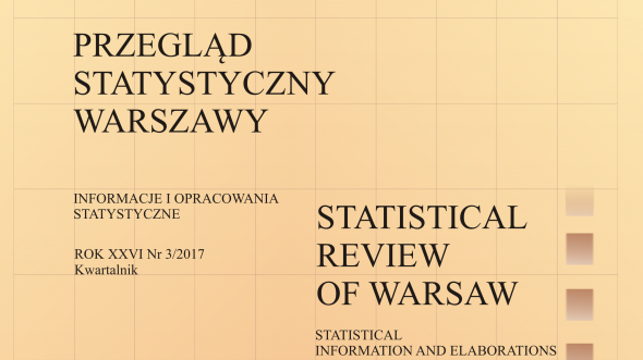 Statistical Review of Warsaw - 3rd quarter 2017