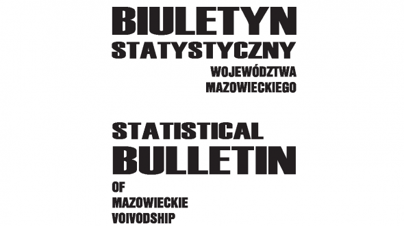 Statistical Bulletin of Mazowieckie Voivodship - 2nd quarter 2017